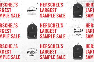 Herschel Supply Co. Sample Sale a543980b09d96