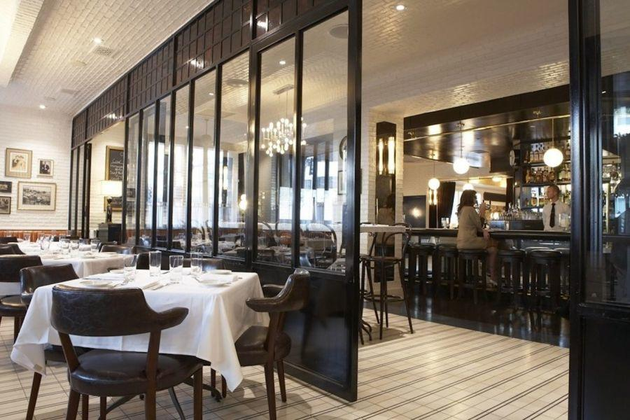 Caulfields Bar And Dining Room At SIXTY Beverly Hills