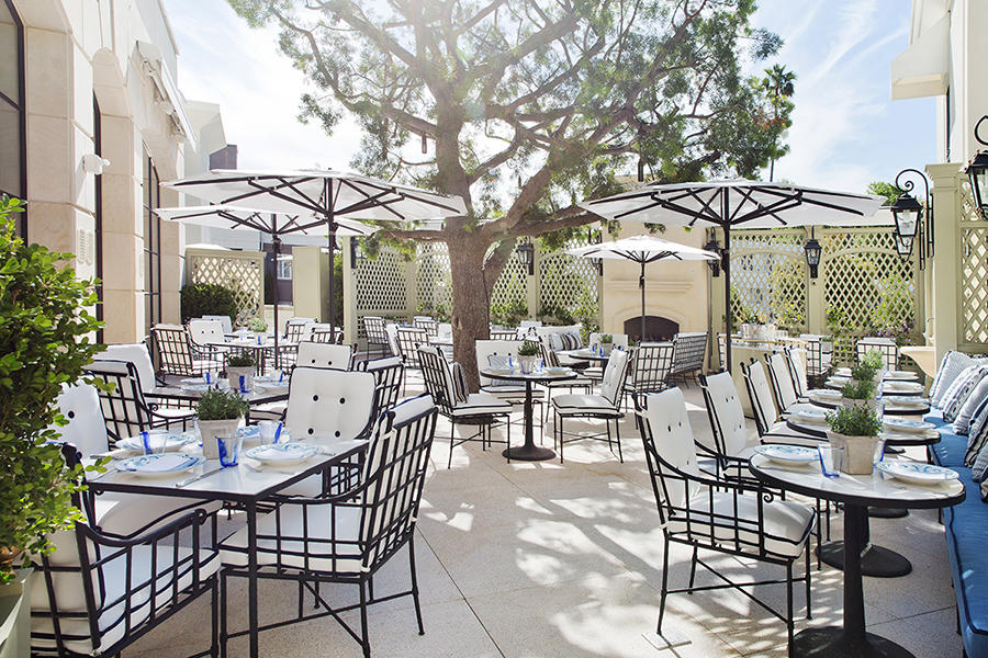 The Belvedere Terrace At The Peninsula Beverly Hills