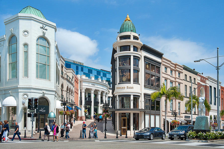 Beverly Hills Rodeo Drive shopping private car service